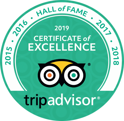 Pterodactyl Helicopters TripAdvisor Hall of Fame 2015-2019