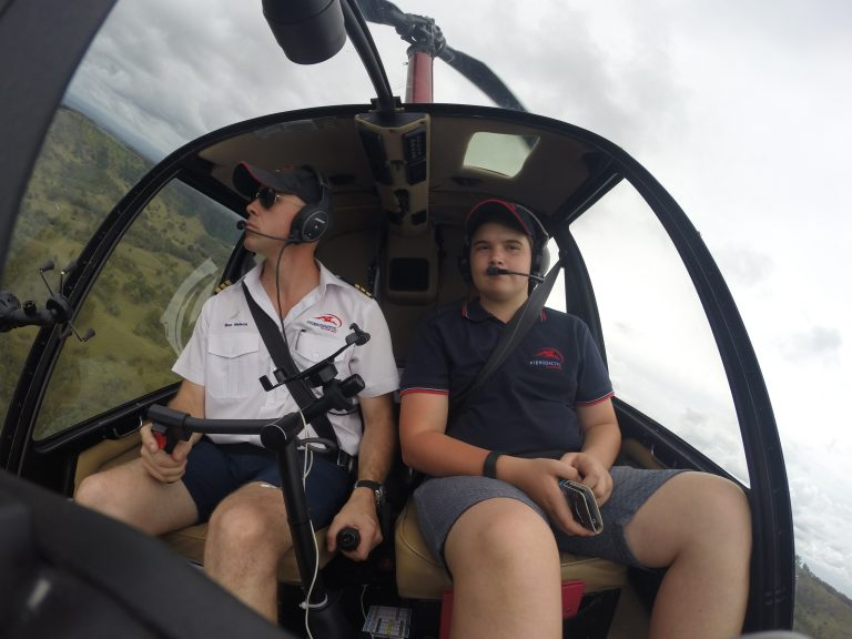 Junior aviator experience helicopter flight for kids