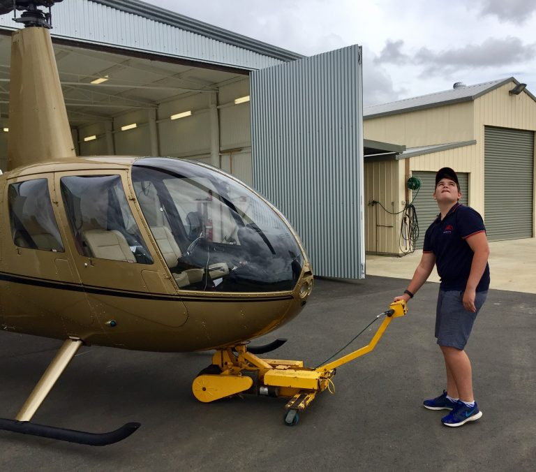 Future Pilot, Brisbane, Helicopter Training