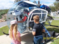 helicopter training, junior, aviator in the making, ipswich