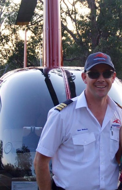 helicoter pilot, ben nelson, commercial pilot