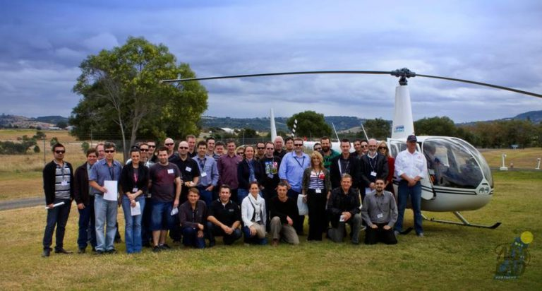 Corporate events by helicopter