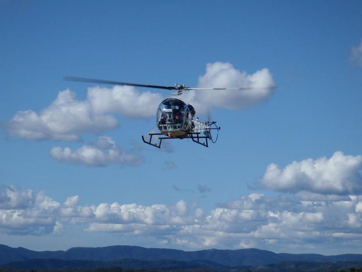 Bell 47 provides a uncluttered view of Ipswich and the Scenic Rim