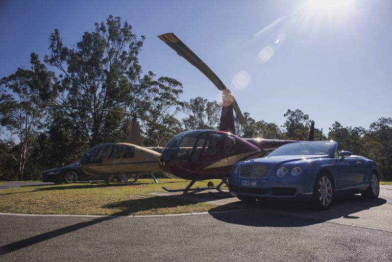 luxury travel, door to door service, helicopter, convertible, VIP