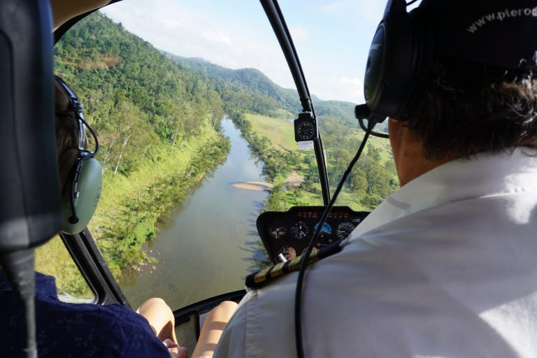 river run, water, river, helicopter