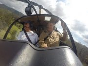 Levuka joy flight by helicopter