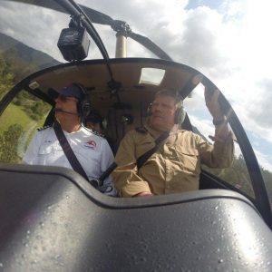 Levuka joy flight by helicopter