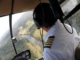 Low level, Brisbane helicopter adventure