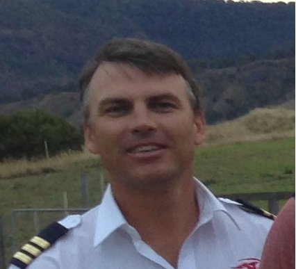 Helicopter Pilot, Dom James