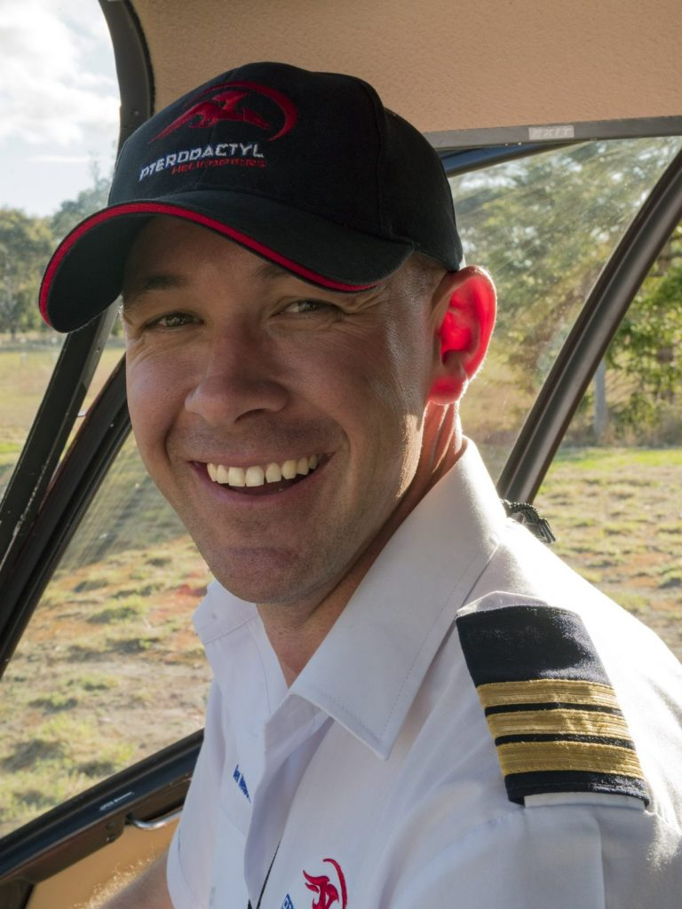 Ben Nelson, Line Pilot, Helicopter