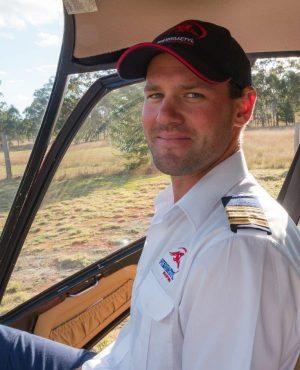 Helicopter Pilot, Luke Sycz