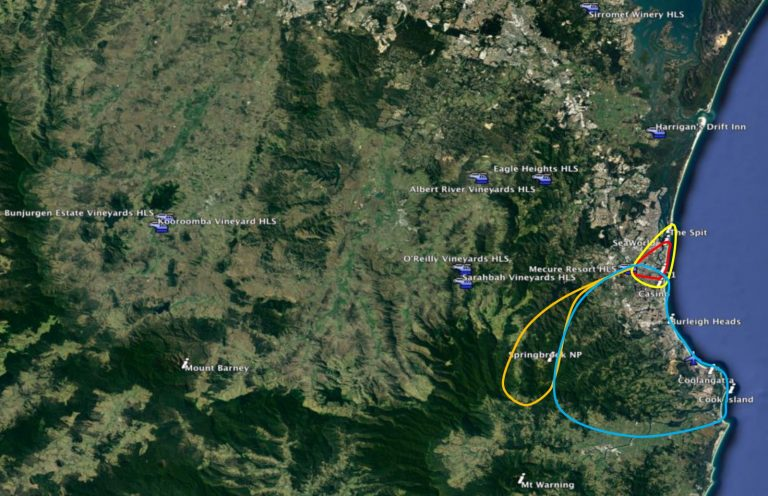 brisbane helicopter tours, gold coast helicopter tours, gold coast, hinterland, helicopter tours, scenic